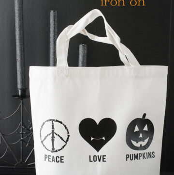 DIY Easy Trick or Treat Bag