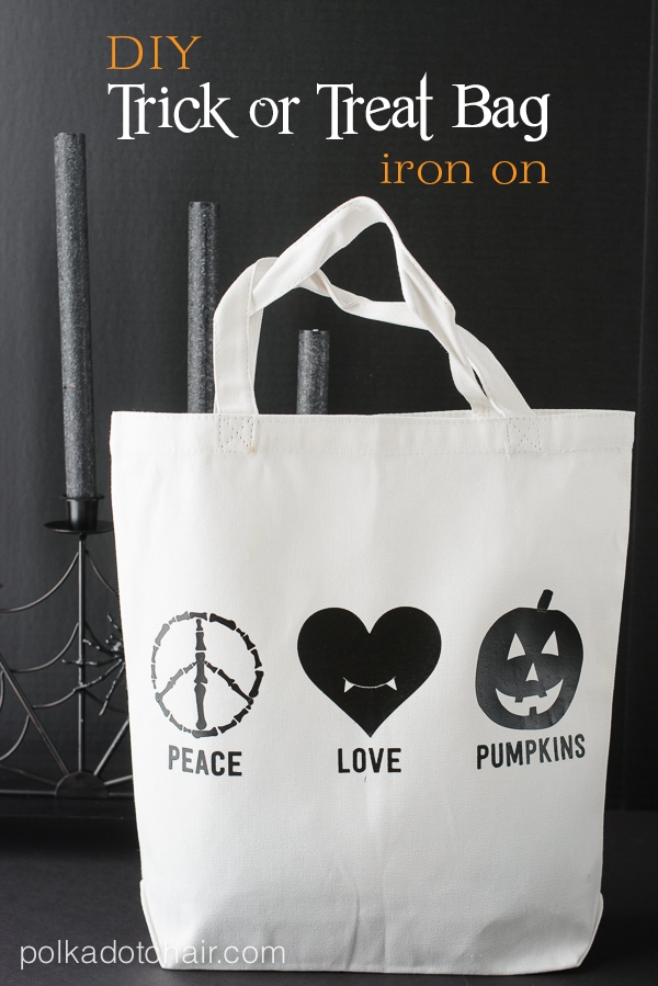Easy DIY Halloween Trick or Treat Bag with Free Cut File Download