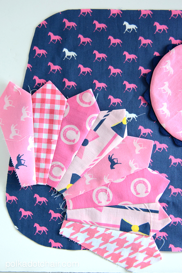Derby Style Fabric by Melissa Mortenson