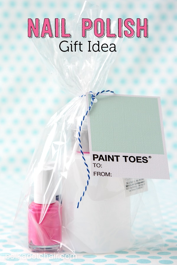 Nail Polish Gift Ideas And Free Printable Gift Tags