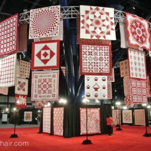Quilt Display, Quilt Market 2014
