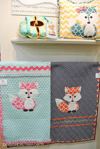 Riley Blake Fabrics Display at Quilt Market