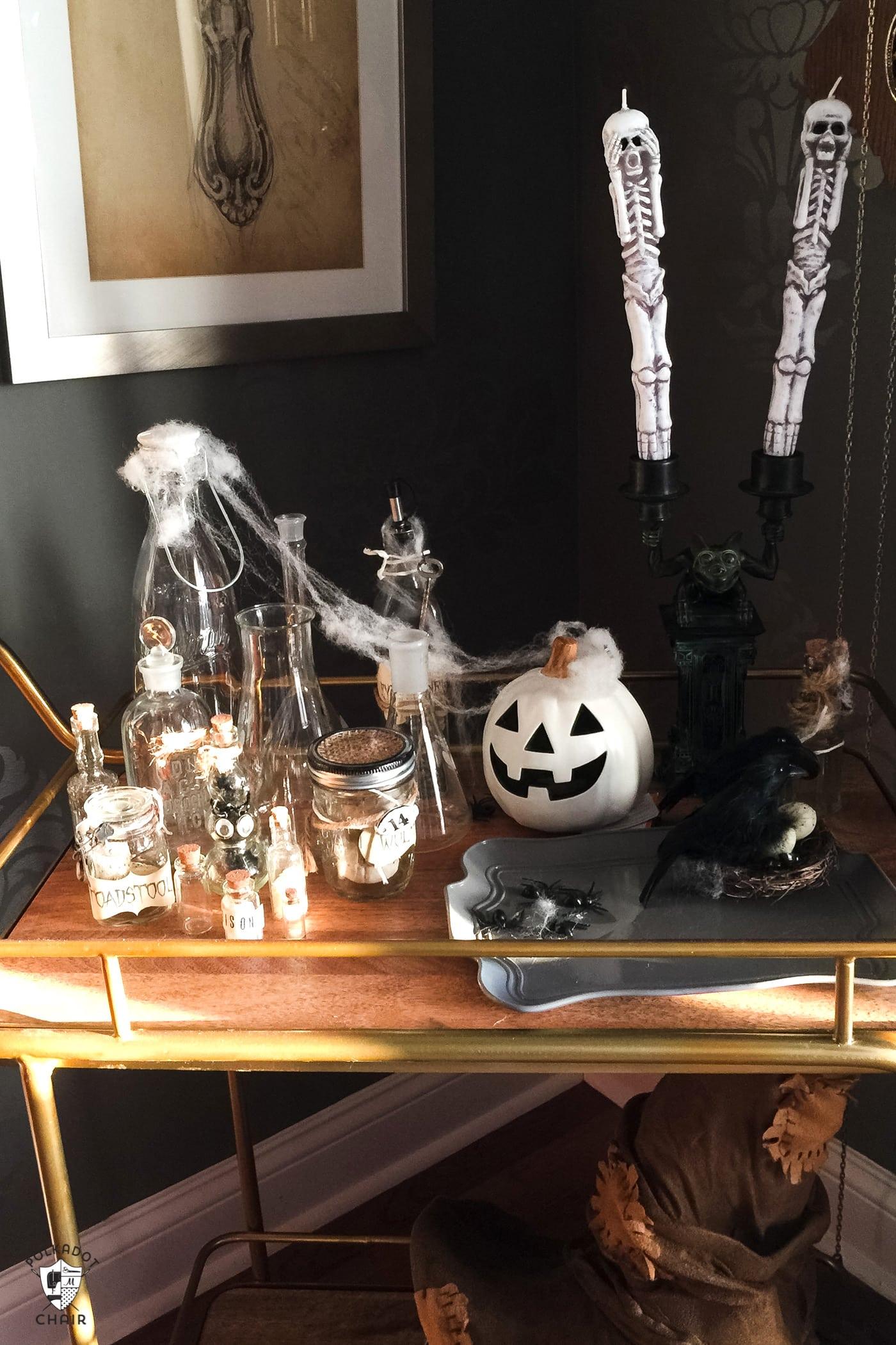 Cute And Spooky Halloween Dinner Ideas The Polka Dot Chair
