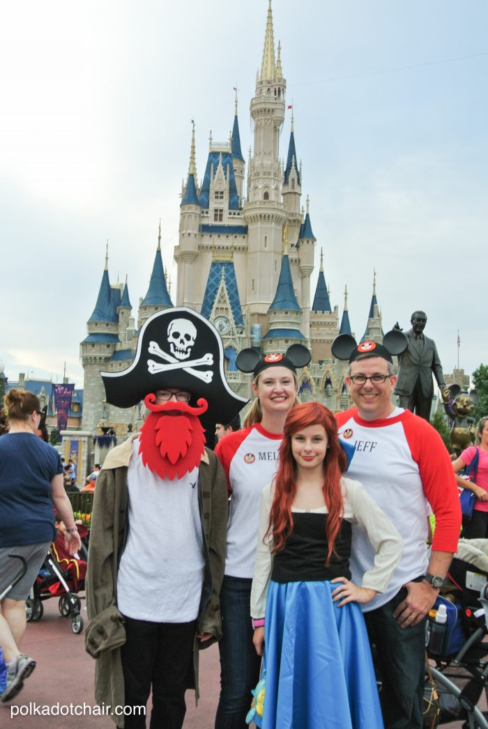 Costume ideas for Mickey's Not So Scary Halloween Party at Disney World