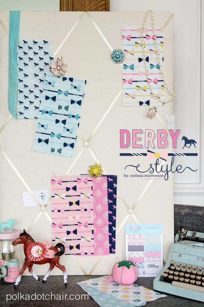 Derby Style Fabric Collection by Melissa Mortenson