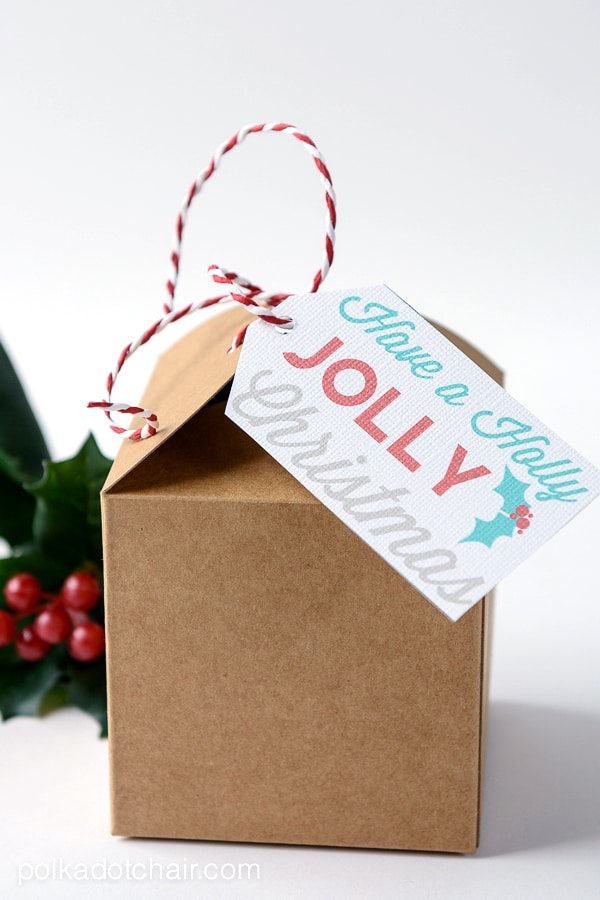 Have a Holly Jolly Christmas Free Printable Gift Tags