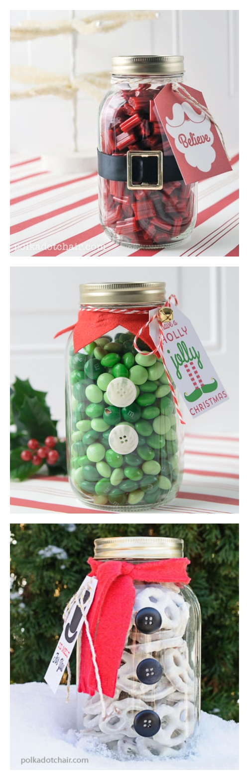 Mason Jar Christmas Ideas