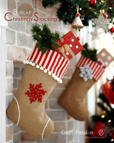 20 Christmas Stocking Patterns The Polka Dot Chair