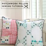 Bow Pillow Sewing Pattern by Melissa Mortenson of polkadotchair.com