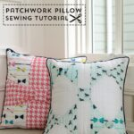 Bow Tie Patchwork Pillow Tutorial