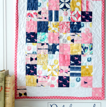 Patchwork Doll Quilt Tutorial