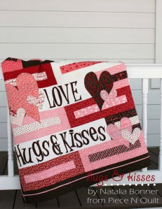 Hugs and Kisses Valentines Day Quilt Pattern