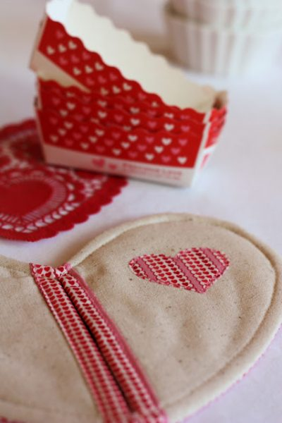 Valentines Day Heart Pot Holder Sewing Pattern