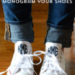 DIY Monogrammed Converse Chuck Taylors
