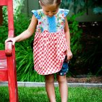 Hopscotch Top Pattern from Pattern Jam