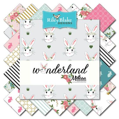 Wonderland Fabric by Melissa Mortenson for Riley Blake Designs