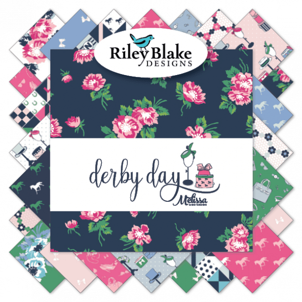 Derby Day fabric by Melissa Mortenson for Riley Blake Designs