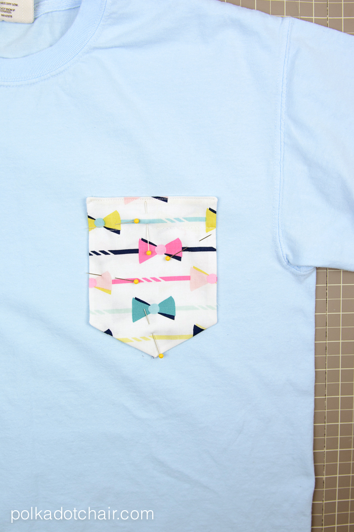 how to make fabric pockets