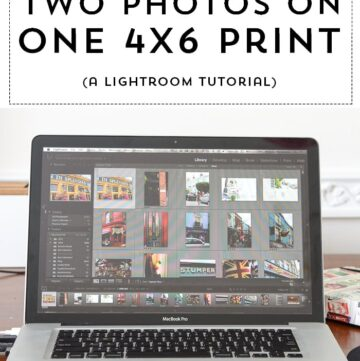 How to Print Two Photos on 4×6