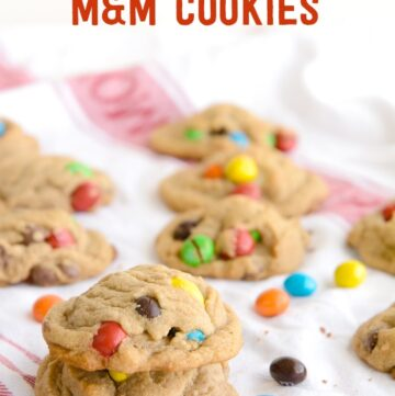 Malted Milk Crispy M&M's® Cookies