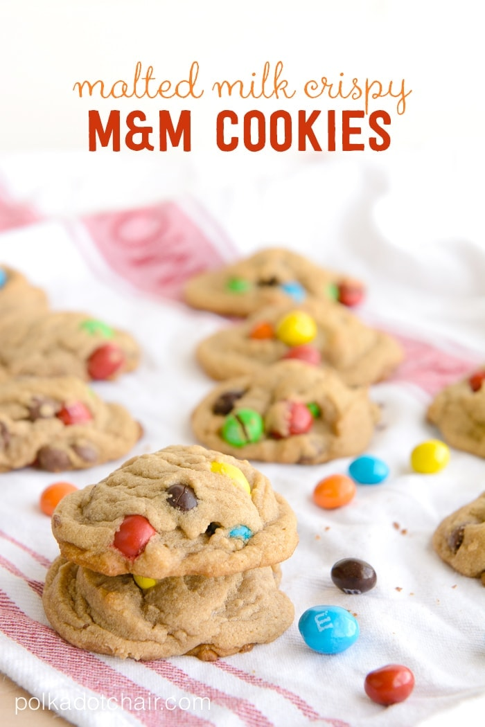 Malted Milk M Amp M 174 Cookies A Recipe From The Polka Dot Chair