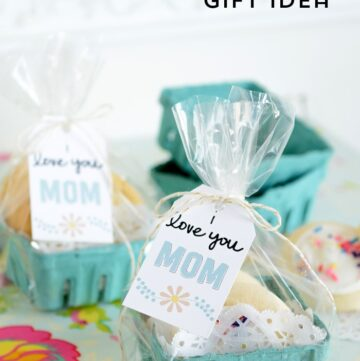 Easy Mother's Day Gift Ideas & Free Printable Tags & Giveaway!