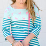 A cute dress to sew for teens and tweens, Coco dress pattern