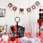 Father's Day Party Ideas with Chinet® Cut Crystal® & Giveaway