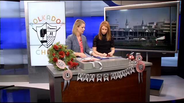 WDRB - Polkadot Chair - Derby decorations 4-14-15 (5)