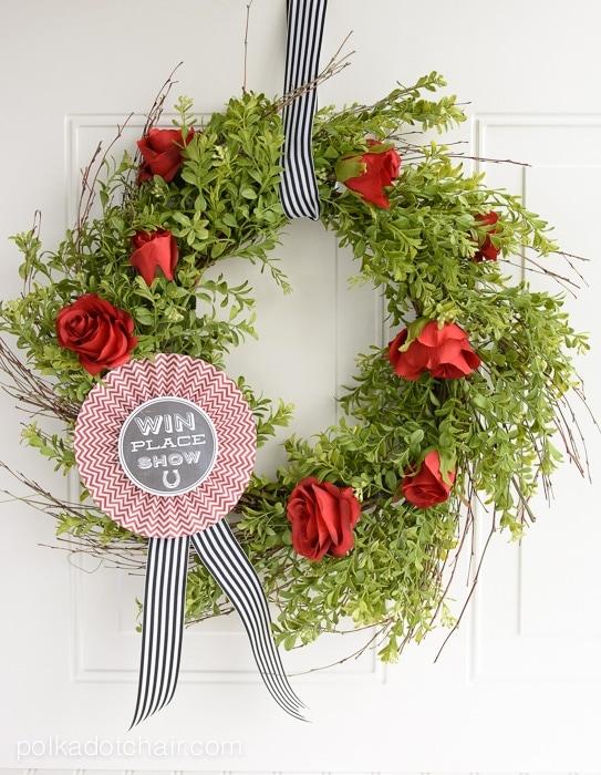derby-wreath
