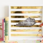 DIY Gold Foil Artwork – and Free Printable