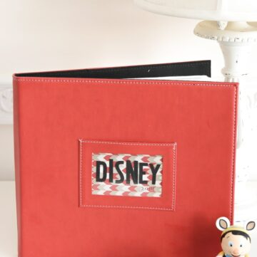 Easy Disney Photo Album Ideas