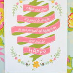 Free Printable: Pause and Just Be Happy (plus, a Giveaway!)
