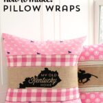 How to make Pillow Wraps – Kentucky Derby Craft Ideas