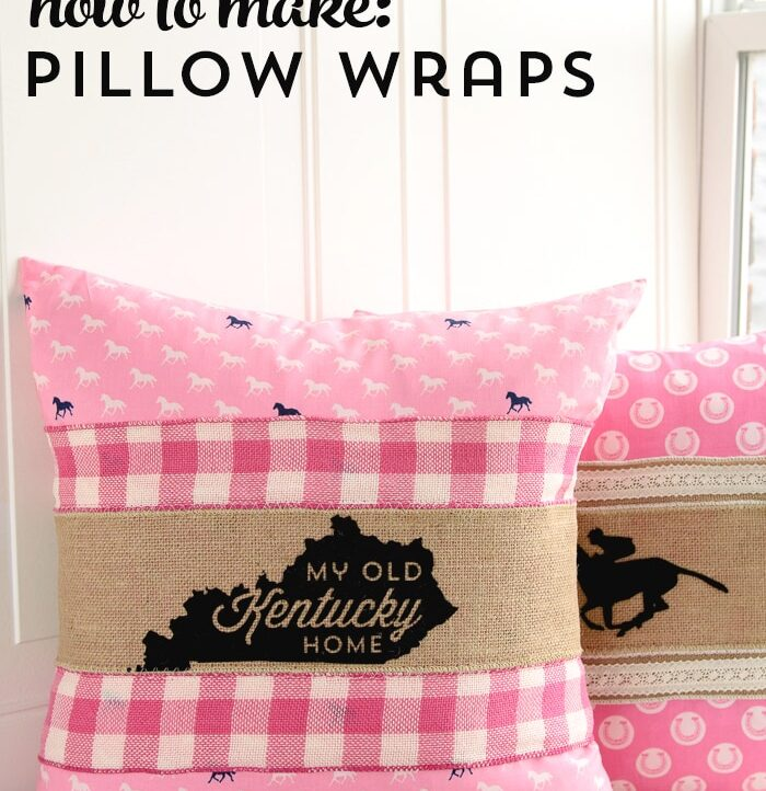How To Make Pillow Wraps U2013 Kentucky Derby Craft Ideas