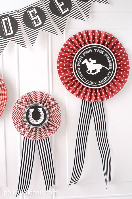 How to make Paper Prize Ribbons and Rosettes on polkadotchair.com