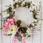 DIY Magnolia Spring Wreath