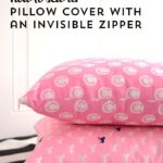 How to make a Pillow Cover with an Invisible Zipper