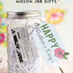 Mother's Day Mason Jar Gift Ideas {and free printable tags}