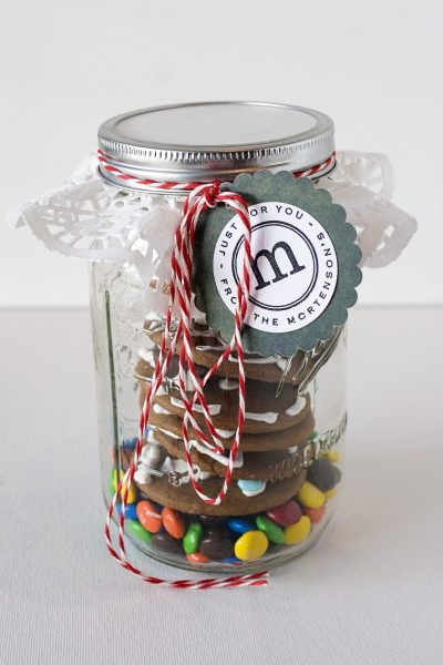 Cookies in a Jar, Mason Jar gift idea