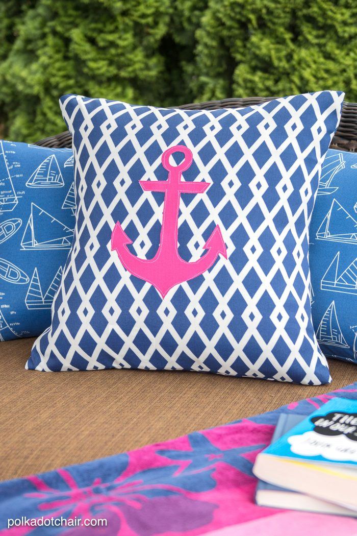 How To Recover Your Old Outdoor Pillows And Cushions. The Project Includes  A Sewing Pattern