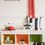 DIY Chalky Finish Bench Makeover