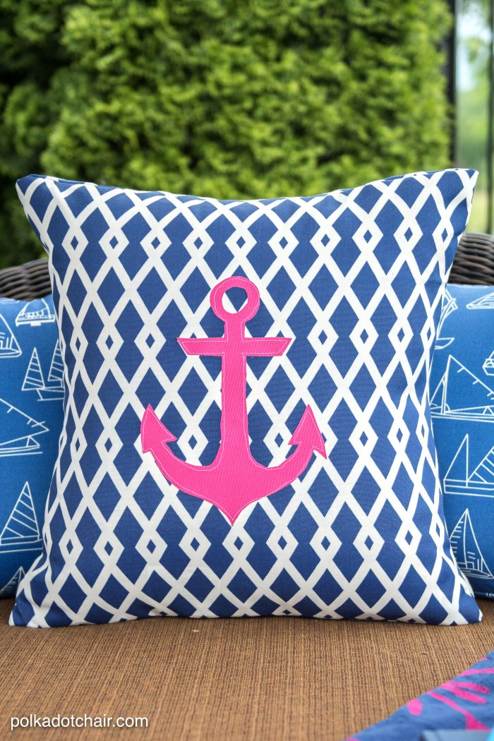 How to sew Outdoor Pillow Covers