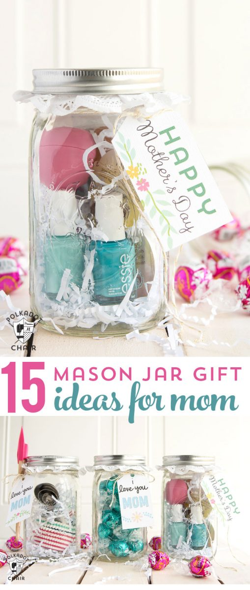 Last minute mother 39 s day gift ideas cute mason jar gifts Christmas ideas for mothers