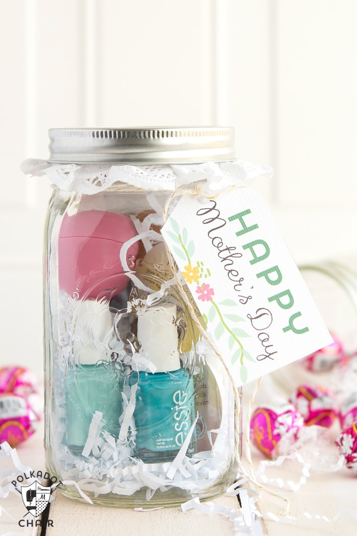 Spa in a jar-- perfect for a last minute gift!