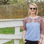 Well Composed Blouse Sewing Pattern: A finished project