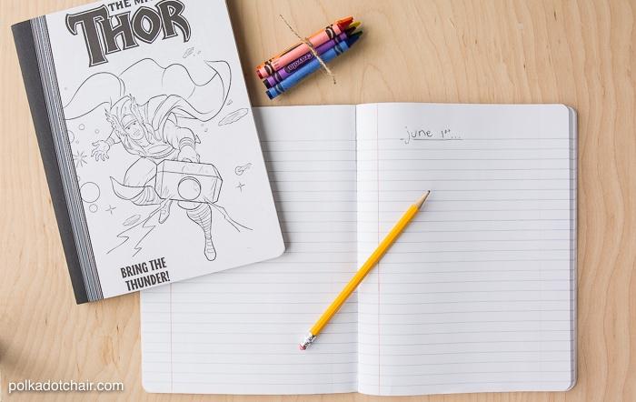 Kids Summer Journal Ideas amp Free