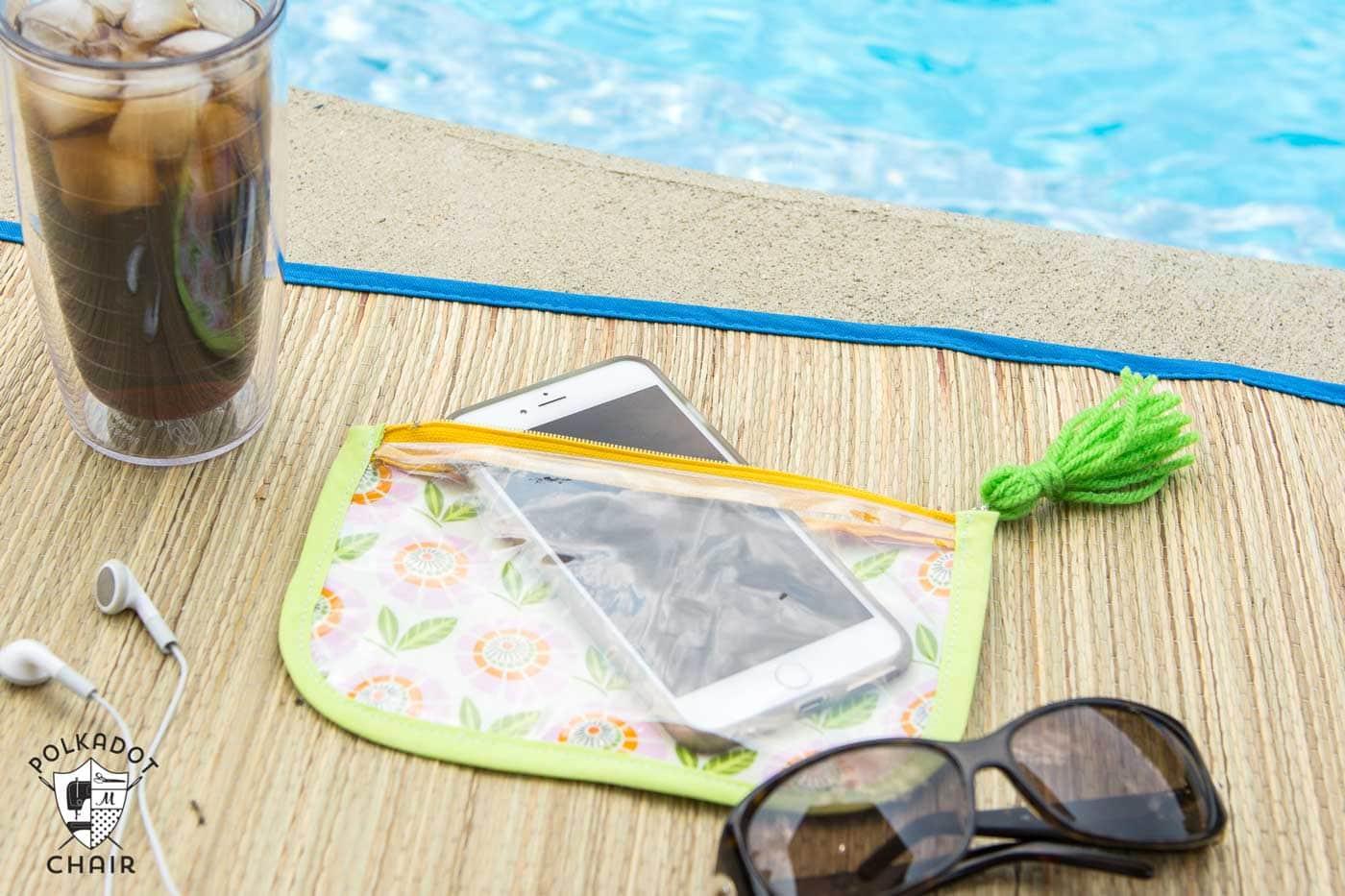 Splash Proof Phone Case Sewing Pattern