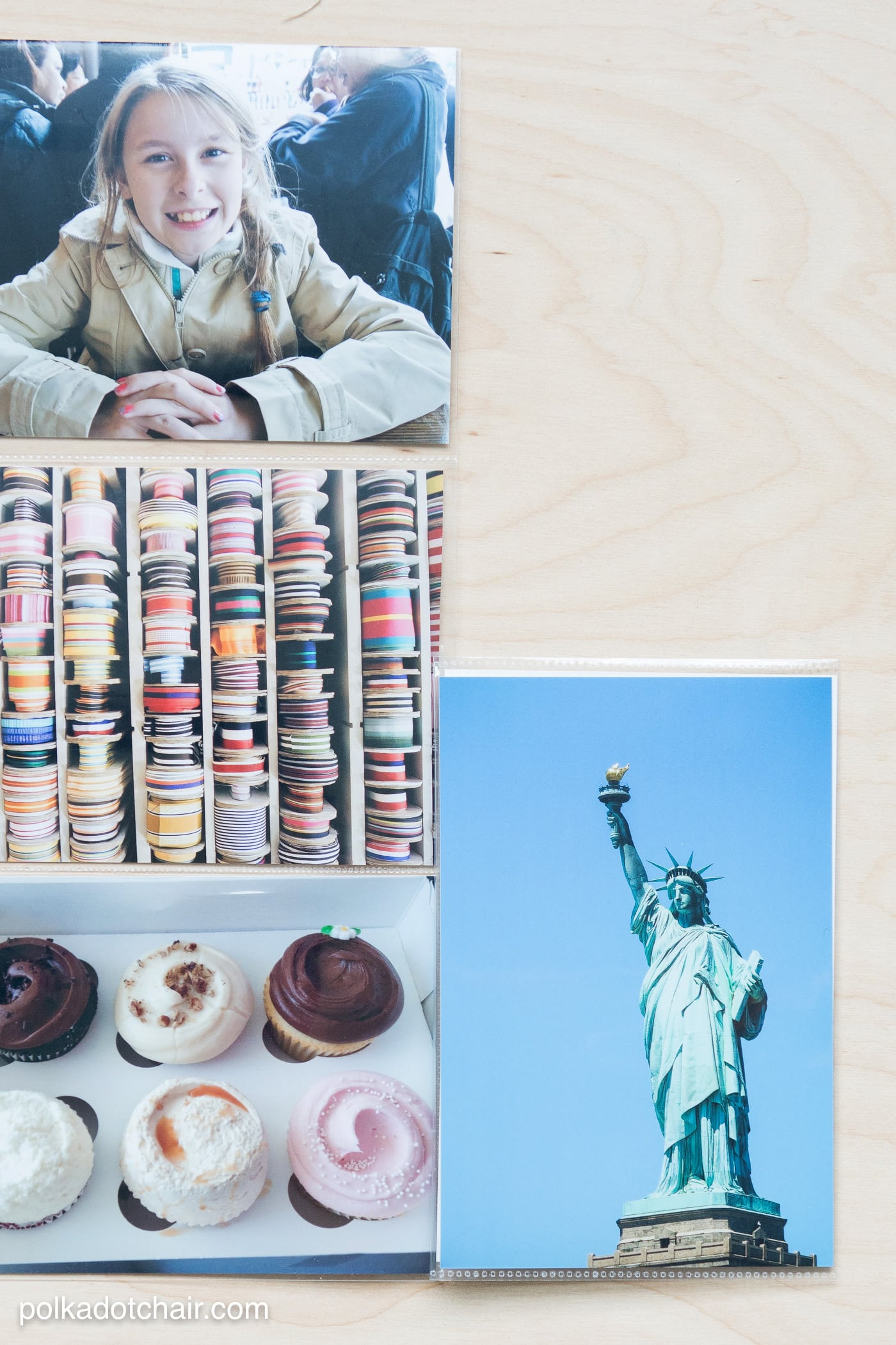 How to create custom photo sleeves for odd shaped memorabilia from vacations or old photos.