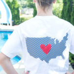 DIY Pocket Tee 4th of July Shirts